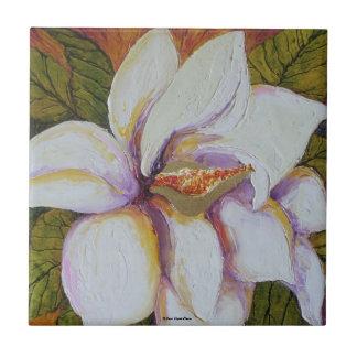 White Magnolia Tile