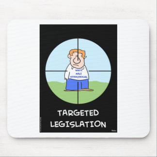 white male heterosexual targeted legislation mouse pad