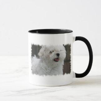 White Maltese Puppy Coffee Mug