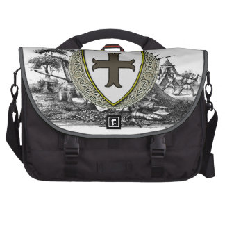 White (Manchester) Family Arms Computer Bag