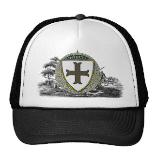 White (Manchester) Family Arms Trucker Hat