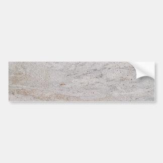 White Marble Background Bumper Sticker