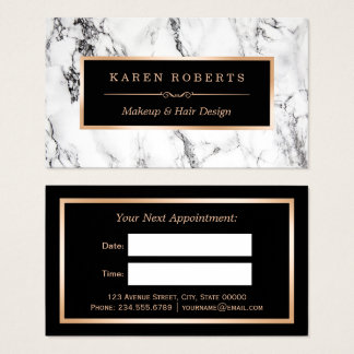 Hair And Beauty Business Cards & Templates | Zazzle
