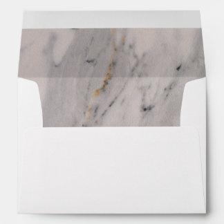 White Marble Envelope