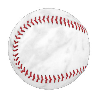 White Marble Look Baseball