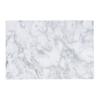 White Marble Look Placemat
