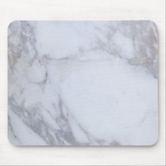 White Marble Mousepads