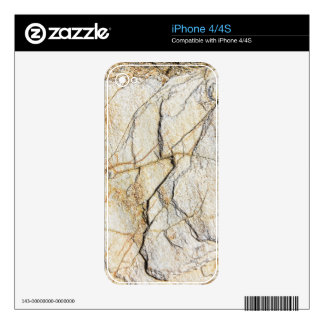 White marble pattern skins for the iPhone 4