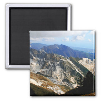 White Marble Quarries, Carrara - Italy Magnet