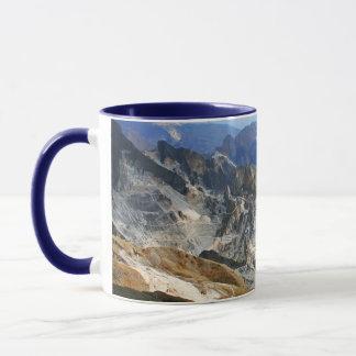 White Marble Quarries, Carrara - Italy Mug