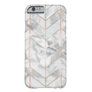 White Marble & Rose Gold iPhone 6/7/8 Case