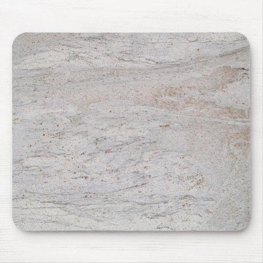 White Marble Swirled Mousepad