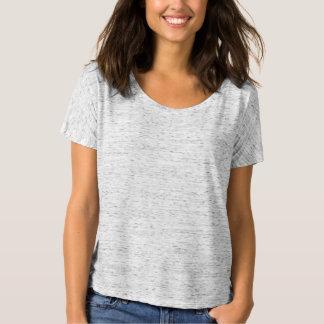 WHITE MARBLE : Women's Bella Flowy Simple T-Shirt