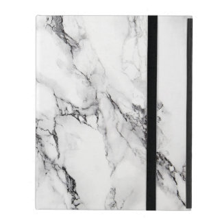 White Marbled Stone iPad Cover