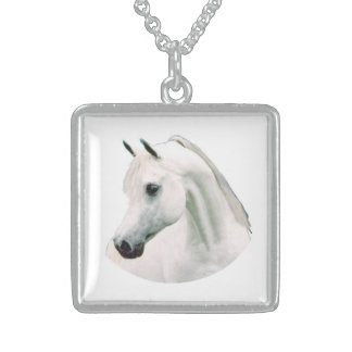 White Mare Neckwear Sterling Silver Necklace