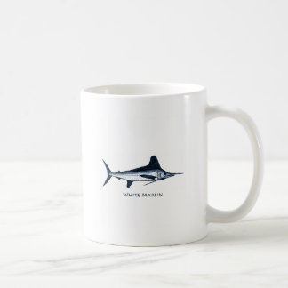 White Marlin Logo Coffee Mug