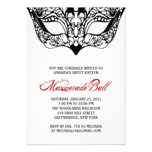 Romeo And Juliet Invitation To Capulet Party is best invitation layout