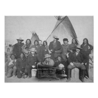 White Men (including Buffalo Bill) and Lakota 2 Poster