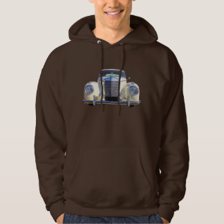 White Mercedes Benz 300 Luxury Car Hoodie