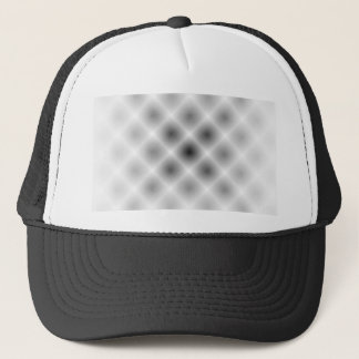 White Mesh Moire by Kenneth Yoncich Trucker Hat