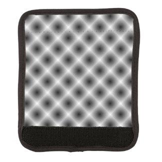 White Mesh Moire Luggage Handle Wrap