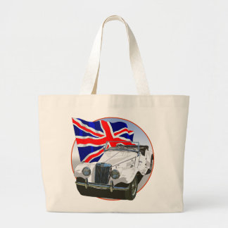 White MG TF Canvas Bags