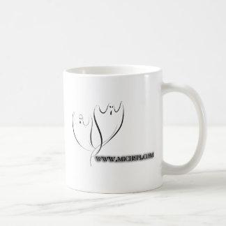 White MI SPI mug