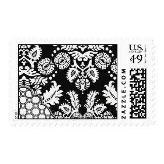 White Micah-BRO01 Postage Stamp
