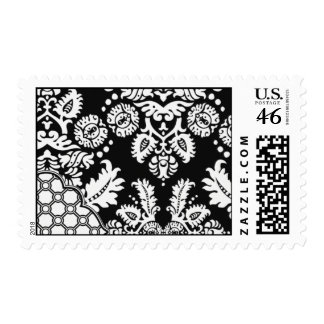 White Micah-BRO01 Postage Stamps