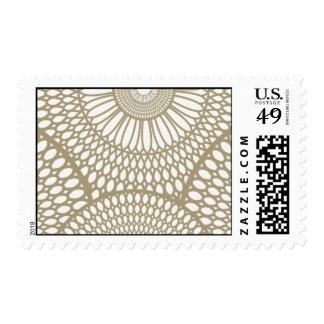 White Micah-KAL35 Stamp