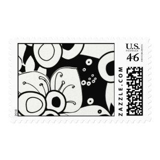 White Micah-KIT01 Postage Stamps
