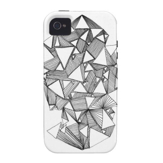 White Mind iPhone 4/4s Case