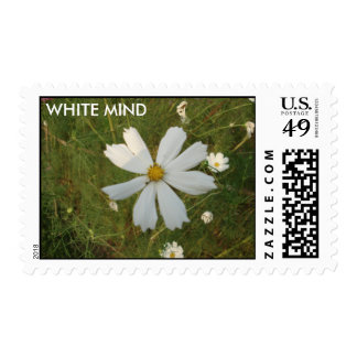 WHITE MIND POSTAGE STAMPS