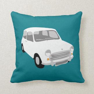 White Mini Car Cushion by Rupert & Poppy