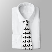 White Mini Pig Tie