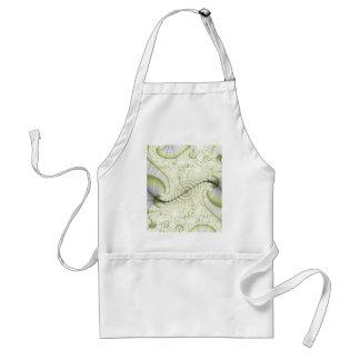 White minimalist ornate design gifts accessories apron
