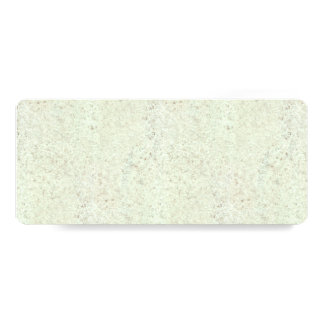 White Mist Cork Wood Grain Look 4x9.25 Paper Invitation Card
