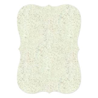 White Mist Cork Wood Grain Look 5x7 Paper Invitation Card