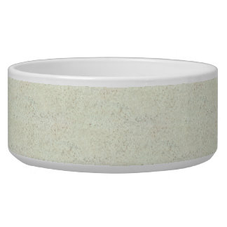 White Mist Cork Wood Grain Look Bowl