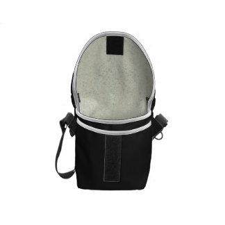 White Mist Cork Wood Grain Look Courier Bag