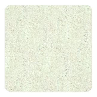 White Mist Cork Wood Grain Look Invitation