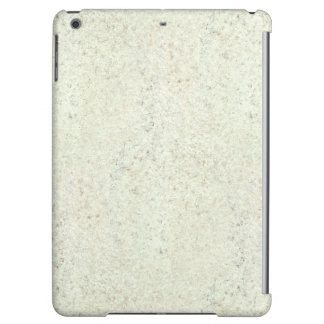 White Mist Cork Wood Grain Look iPad Air Covers