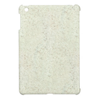 White Mist Cork Wood Grain Look iPad Mini Cover