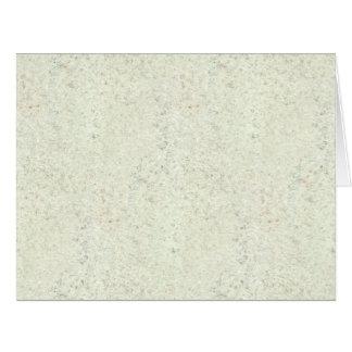 White Mist Cork Wood Grain Look Large Greeting Card