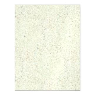 White Mist Cork Wood Grain Look Magnetic Invitations
