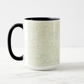 White Mist Cork Wood Grain Look Mug