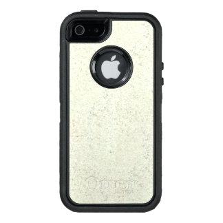 White Mist Cork Wood Grain Look OtterBox iPhone 5/5s/SE Case