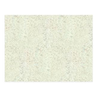 White Mist Cork Wood Grain Look Postcard
