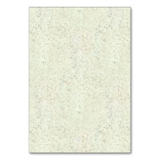White Mist Cork Wood Grain Look Table Card