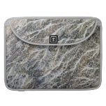 White Moss on Driftwood Sleeves For MacBook Pro